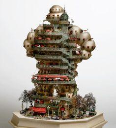 Hotel de Michelin (back) by Aiki Aiba