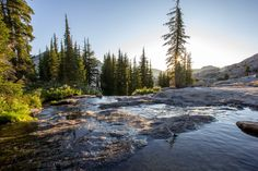 "Explore the ""Waterfall Camp"" in Desolation Wilderness, Lake Tahoe"
