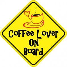 coffee lover sticker