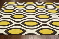 Keno ACR201 Lemon Rug | Contemporary Rugs #RugsUSA