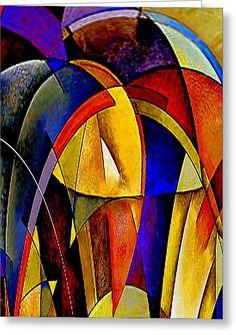 Arches Greeting Card by Rafael Salazar