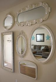 A Diamond in the Stuff: My Mirrors on the Wall