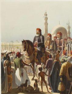 Ali Pacha, Ibrahim Pasha, Egypt Royals, Ibrahim Pacha, Hector Horeau, Egypt History, Ali Pasha, Cairo 1841, Horeau 1801 1872