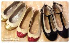 Quiero June para las mas chiquitas #zapatos #shoes #balerinas