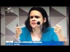 Janaina Paschoal no Senado - Resposta ao Senador Humberto Costa do PT