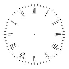 Blank clock template printable that you can save and print for your children's learning activity. Clock Template, Face Template, Clock Craft, Diy Clock, Blank Clock Faces, Clock Face Printable, Image Clipart, Vector Clipart, Vectors