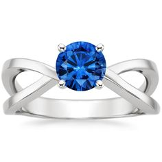 Sapphire Helix Ring....so beautiful blue!!!