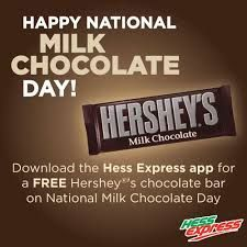 July 28  National Milk Chocolate Day