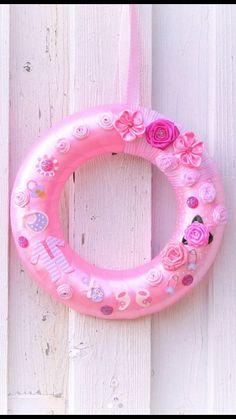 Sieh dir dieses Produkt an in meinem Etsy-Shop #itsagirldecoration #itsagirlgift #newbabygirlgift #babygirlwreath https://www.etsy.com/de/listing/398066195/baby-pink-wreath-its-a-girl-wreath-party