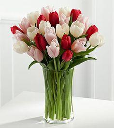 Valentine's Day Tulip Bouquet