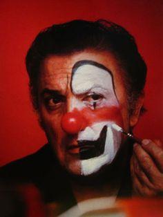 Federico Fellini Clowns