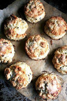 Tartine's Buttermilk Scones with Currants