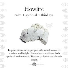 Howlite | Gemstones & Sacred Materials | Tiny Devotions | Mala Beads