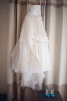 Tulle layers and shoes that pop. when i get married i wanna wear something like this ♥