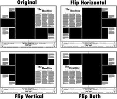I like these lay outs a lot. Even though they are inverted versions of…