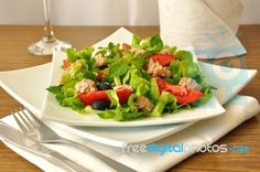 Delicious tuna salad, by Apolonia. Image available to download for free or purchase in high resolution at FreeDigitalPhotos.net