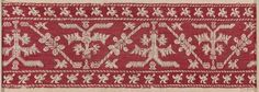 Embroidery      North African or Spanish   Dimensions      Overall: 15.5 x 46.5 cm (6 1/8 x 18 5/16 in.)  Medium or Technique      Embroidery  Classification      Textiles   Accession Number      16.300