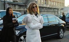 la modella mafia Carine Roitfeld street style via Jak & Jil 2