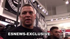 NATE DIAZ full interview on conor mcgregor rematch fighting floyd maywea...