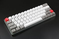 Cheap porte, Buy Quality porte b b directly from China port switch Suppliers: DHL Plug-in Cherry RGB Switches Gaming Mechancial Keyboard Backlit PBT Keycaps Anode metal Case Type C Port Computer Gadgets, Tech Gadgets, Gamer Setup, Pc Setup, Diy Mechanical Keyboard, Key Caps, Custom Pc, Game Room Design, Home Decor Ideas