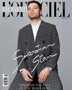 Sebastian Stan for L'Officiel Hommes Thailand - May 2018
