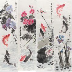 chinese ink lotus - Поиск в Google