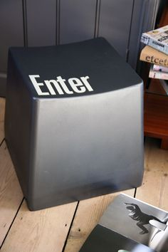 Enter - Computer Key Stool, 95£