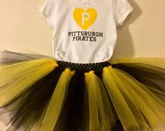Pittsburgh Pirates Shirt and Tutu