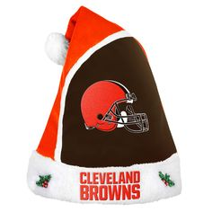 Forever Collectibles Cleveland Browns 2015 NFL Santa Hat