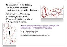 Greek Language, Special Education, Grammar, Make It Simple, Activities, Learning, Art, Art Background, Greek