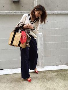 やっぱり大好きモノトーン♡ の画像|yokoオフィシャルブログ「プチプラコーデ術」Powered by Ameba
