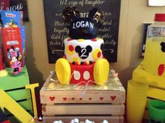 Mickey cake from flour power
