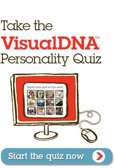 VisualDNA - Get to know yourself better with the VisualDNA Personality Quiz http://100things.personality.visualdna.com (We love personality tests)