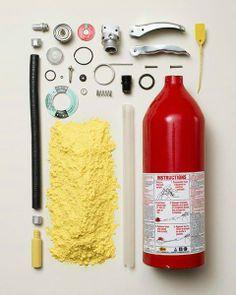 ¿Ya conocías las partes de un extintor?