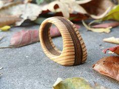 Größe 10-Ring natürliche Holz-Ring von TheWoodArtShop auf Etsy