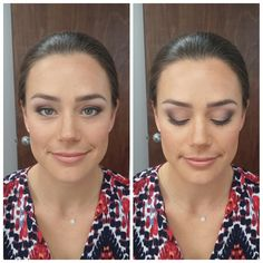 Gorgeous Bride Paige at her Preview this morning! Look at those BEAUTIFUL eyes! Love! Fantastic Job by M3 team member & MUA Rali!!  http://wedding.m3makeup.com/beauty-reviews/