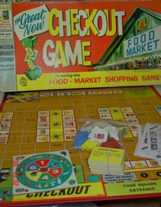 Vintage Checkout Board Game. This would come with 96 cute little vintage product cards such as Weet-Bix, Marmite, Edmonds Baking Powder and Pedigree Dolls. You'd use plastic shopping carts as playing pieces.