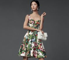 Blumenprint-Cocktailkleid-Dolce-Gabbana-2014