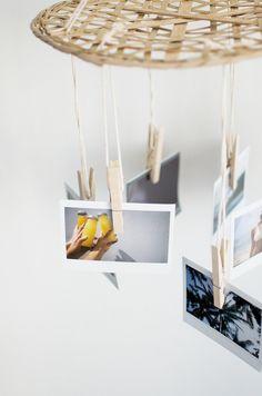 Quick Diy: Hanging Photo Display