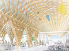 Shigeru Ban presenta nuevo aeropuerto - Noticias de Arquitectura - Buscador de Arquitectura