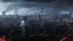 ArtStation - Destroyed cities, Igor Staritsin