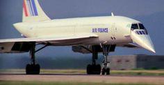 Durante os pousos e decolagem o Concordo abaixava o bico para melhorar o campo de visão dos pilotos