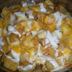 Cheesy Ranch Potato Bake