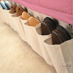 Canvas Shoe Pockets - Intersource D14-452 - Racks & Holders - Camping World