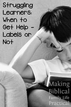 How desperate we are to avoid labeling our kids! And with good reason … if they're in a classroom setting, maybe. But as homeschoolers, we have a much better handle on the social side, and there are serious benefits to your struggling child when you get her tested earlier rather than later. This episode, we talk about our own struggling learner and what we discovered on the way from a late start … to a college scholarship! There's hope!