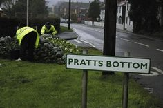 A small village in Kent called Pratts Bottom - Pratt coming from the Latin word Pratum meaning Meadow- was also in list