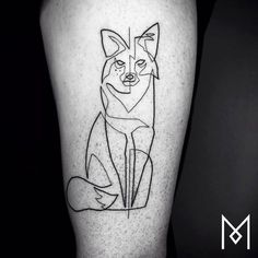 Tattoo artist Mo Ganji specializes in black-and-white body art that makes a strong impact with relatively simple drawings. #minimalist #tattoos
