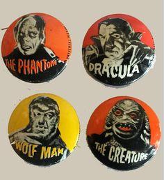 Spacecraft, Dracula, Porsche Logo, Robots, Monsters, Horror, Creatures, Vintage, Robot
