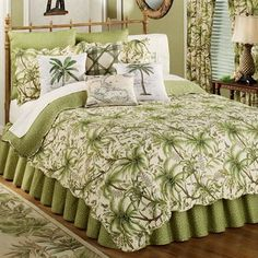 Quilt Patterns : Tropical Palm Tree by Southwind Designs