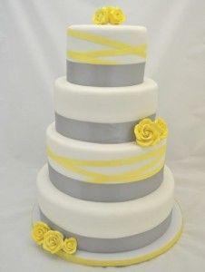 yellow wedding cake 13